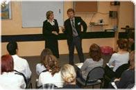 Разбор выступления на тренинге по ораторскому мастерству