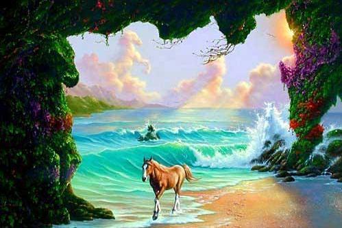7 лошадей