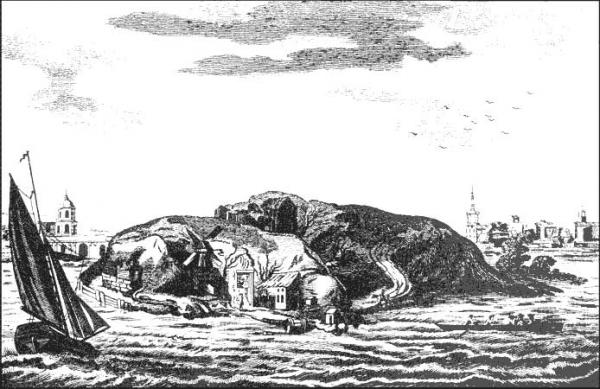 Две собаки или островок