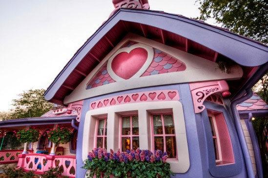 Гламурный домик